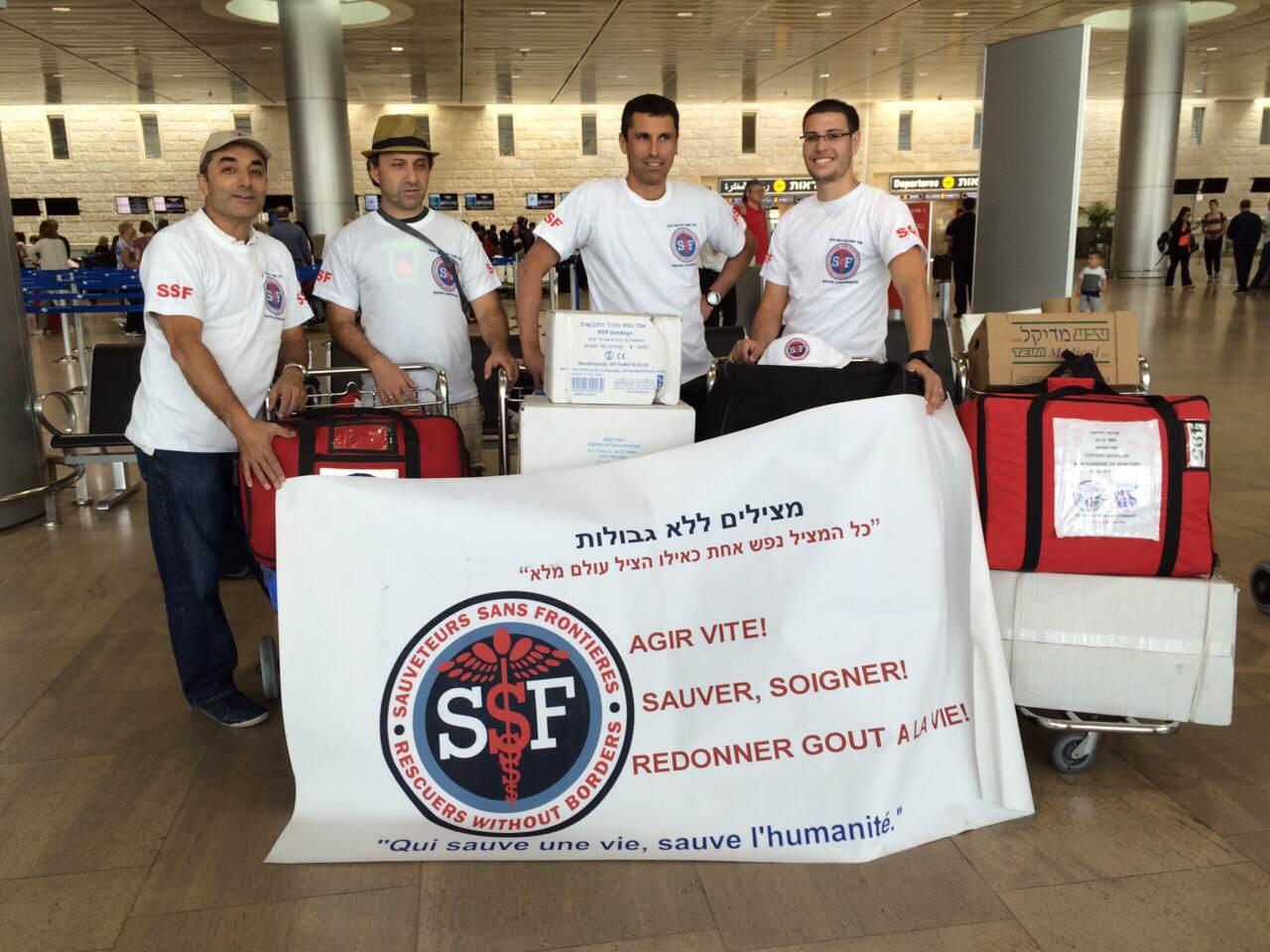 départ de l'équipe SSF pour le Népal