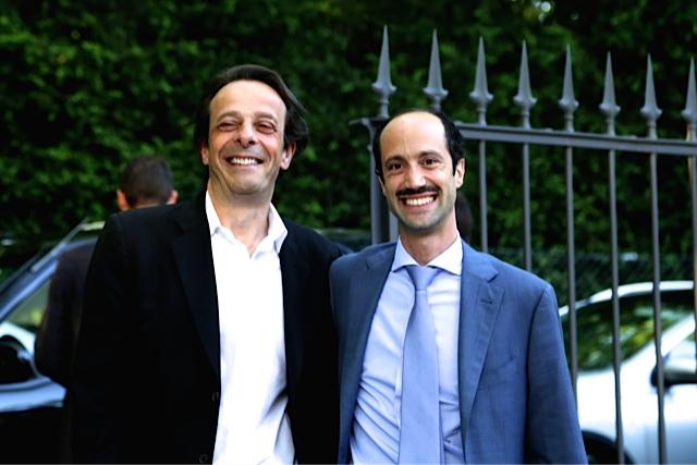 Ilan Dwek et un ami
