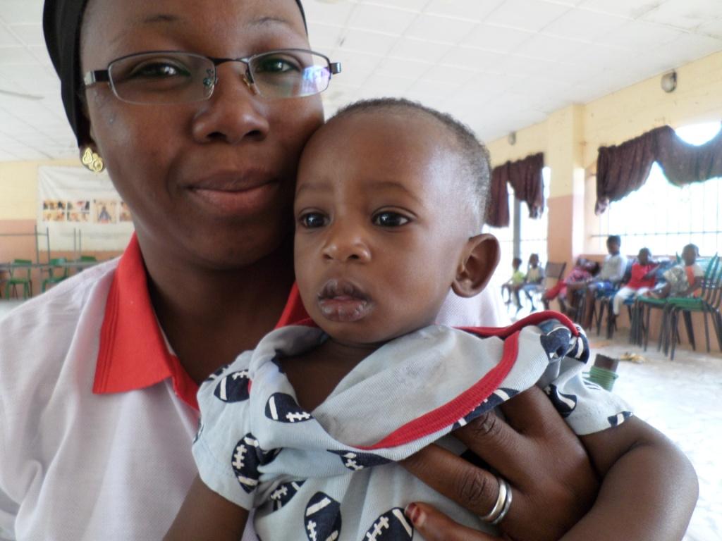 bébé soigné à Sanakoura