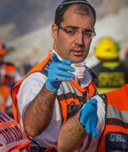 Moshe Sadia : un sauveteur en action