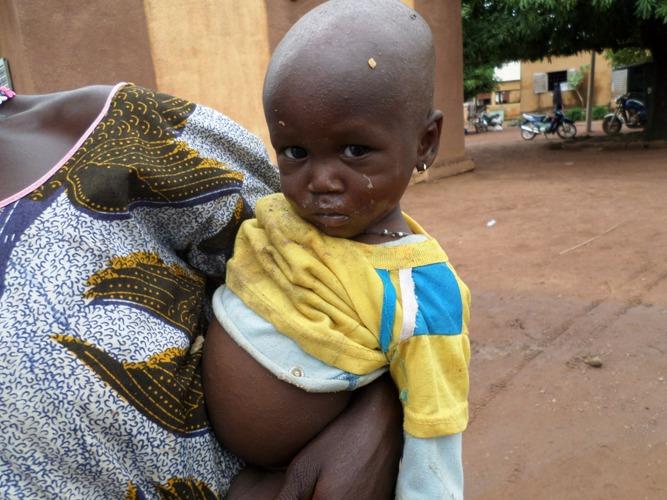 Infirmerie de Tora, Mali, juin 2015
