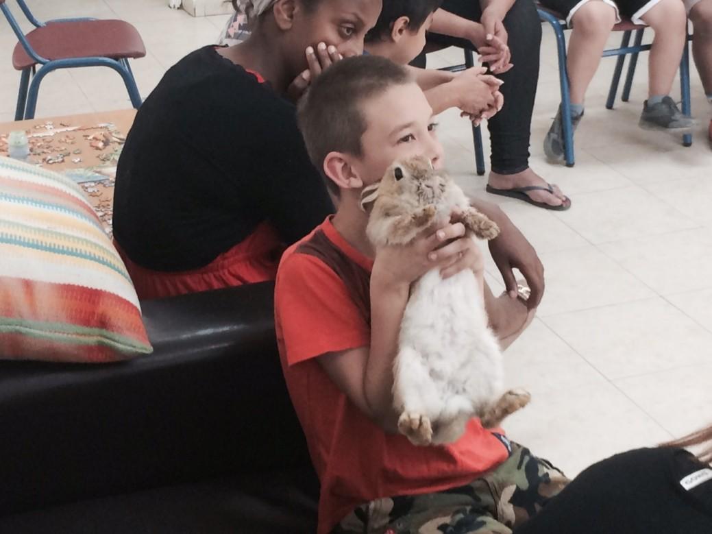 enfant pris en charge à Sdérot
