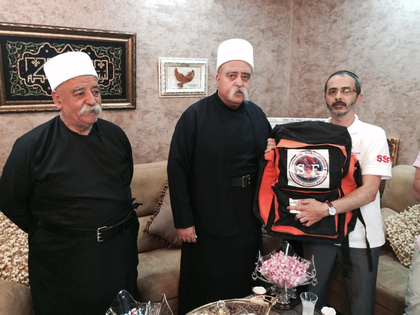 Aide aux Druzes de Syrie