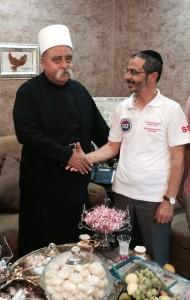 Sheikh Mowafak Tarif et Arié Lévy, Juillet 2015