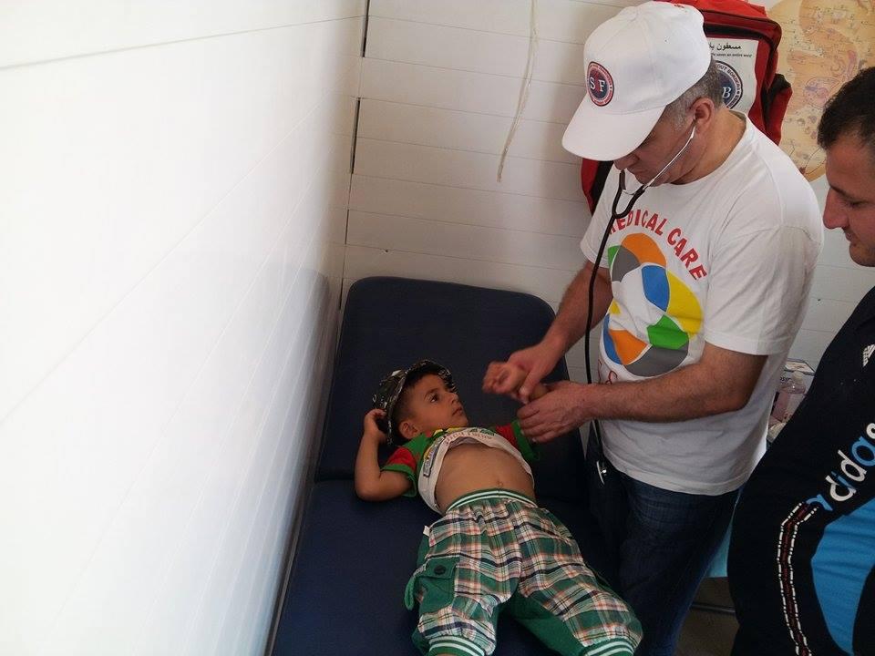 Camp d'Ankawa II, Kurdistan irakien, juin 2015