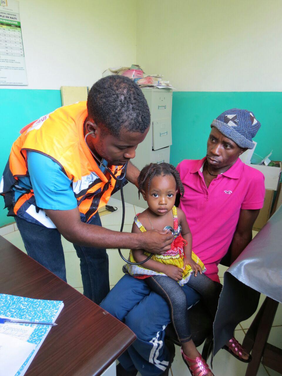 Dispensaire de Coupe Mardi Gras, Haïti, 30 Juillet 2015