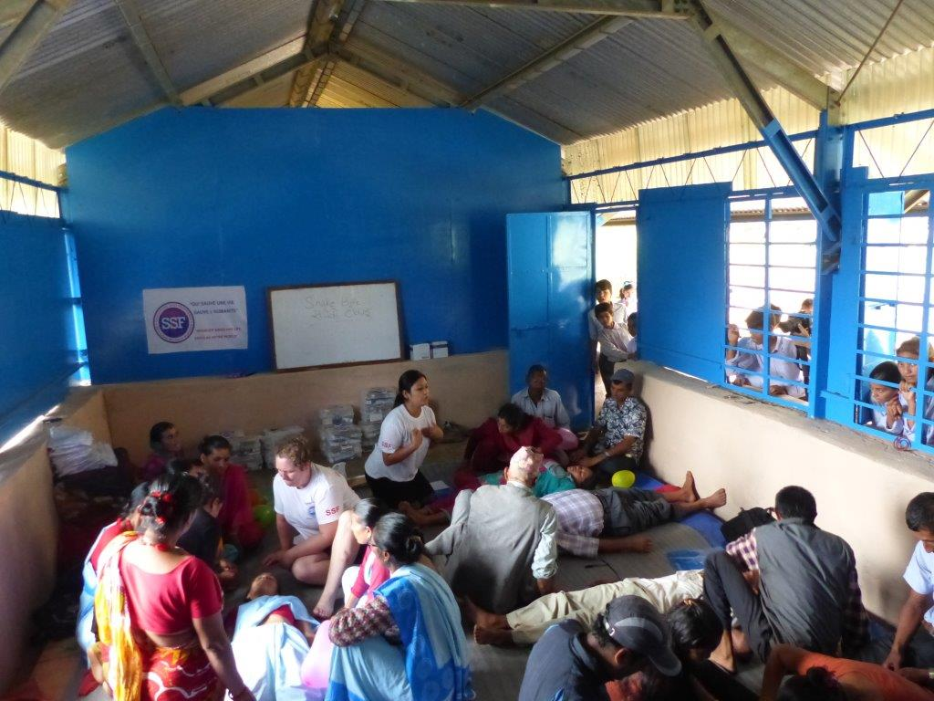 Stage de formation, Secondary School Thokarpa, Népal