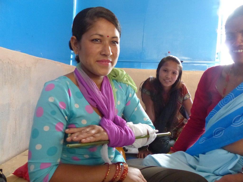 Participante au stage, Thokarpa, Népal