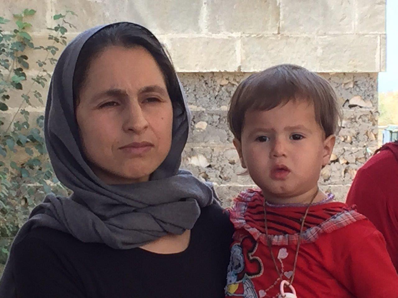 Camp d'Ankawa II, Kurdistan irakien, septembre 2015
