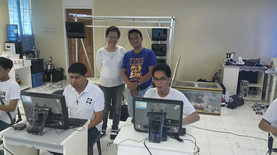 Interactive Center, Tacloban, Philippines, octobre 2015