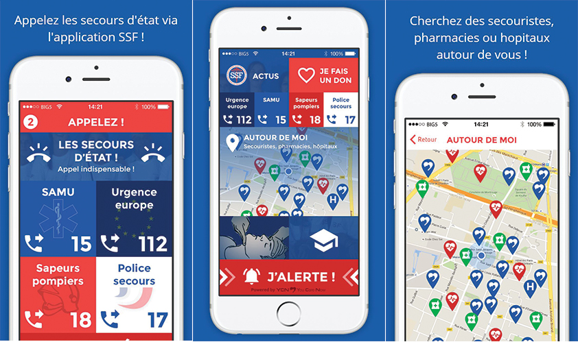 Lancement de l'application mobile SSF