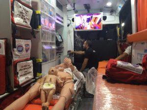 Unité mobile de simulation médicale SSF