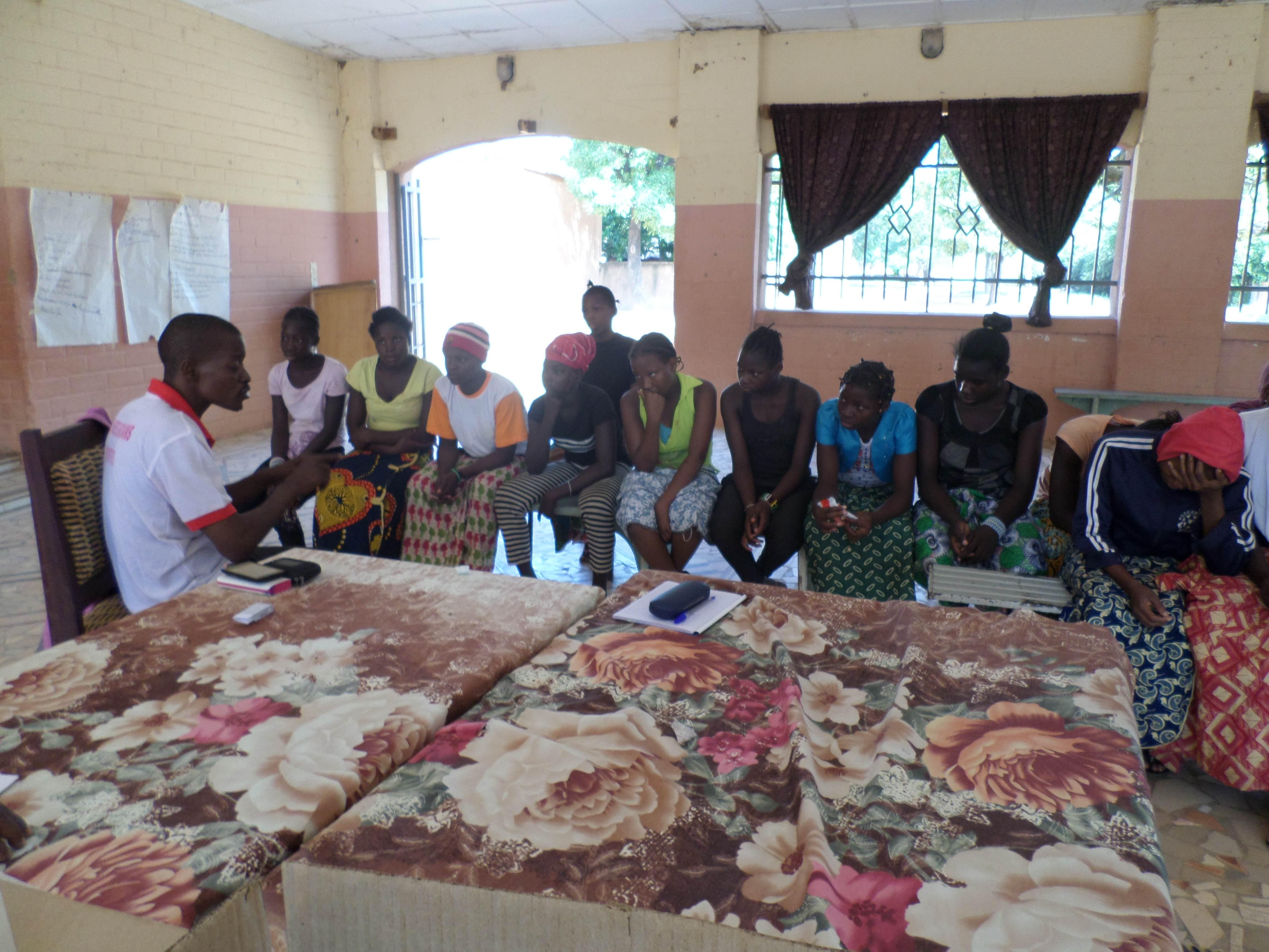 Consultation à Sanankoroba, Mali, Novembre 2016