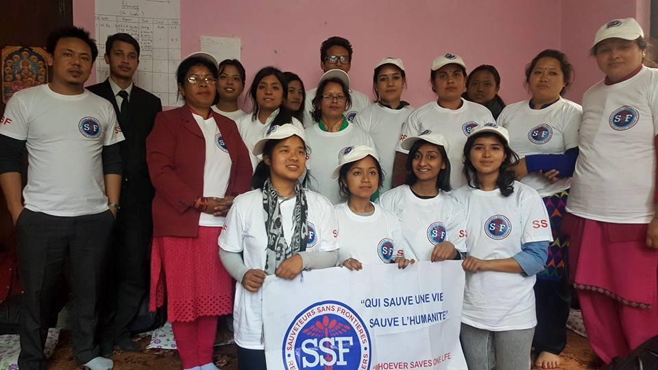 Formation Népal février 2017
