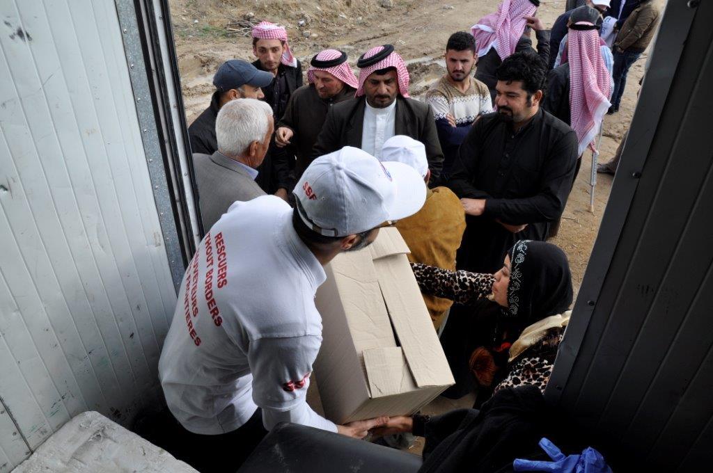 Mission en Jordanie pour les réfugiés syriens et irakiens