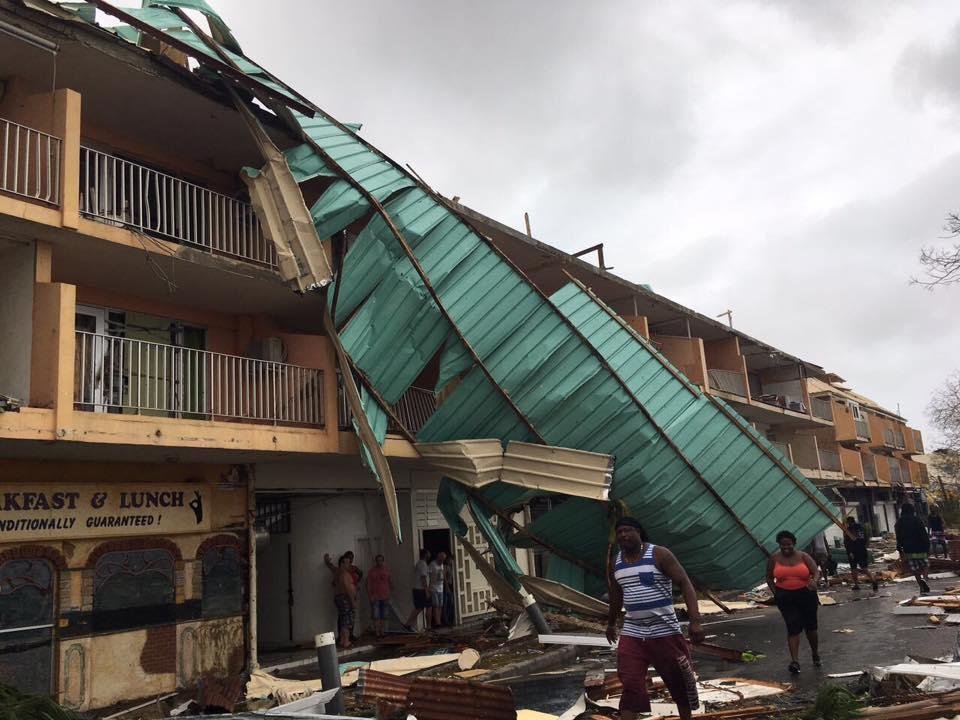 IRMA : mission d'urgence à Saint-Martin