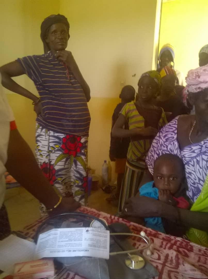 Mission médicale à Sanadje, décembre 2017