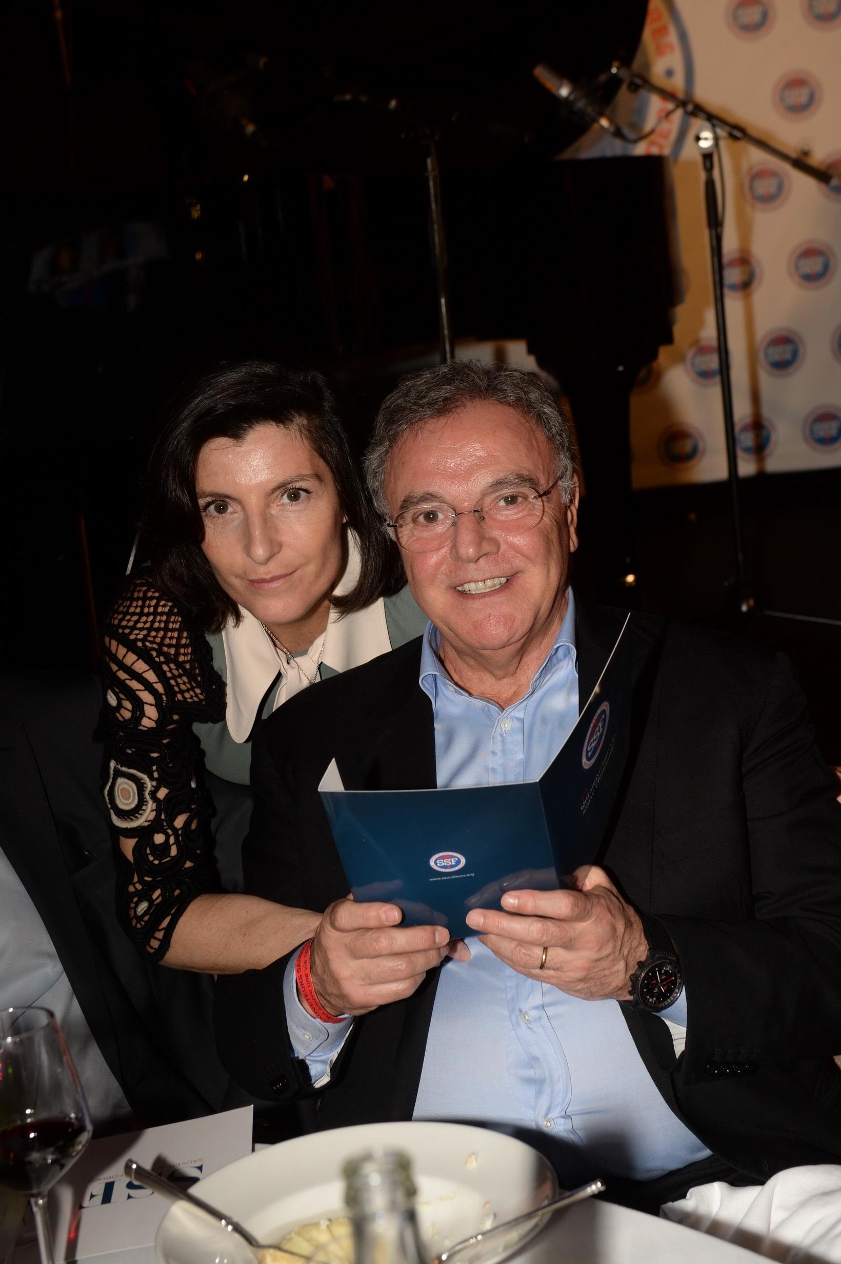 Alain Afflelou et sa femme Christine Coulaud