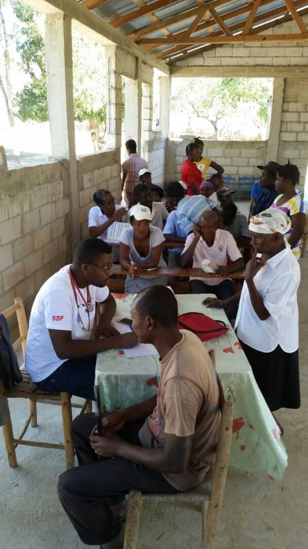 Consultation médicale, Bonabite (Haïti), février 2018