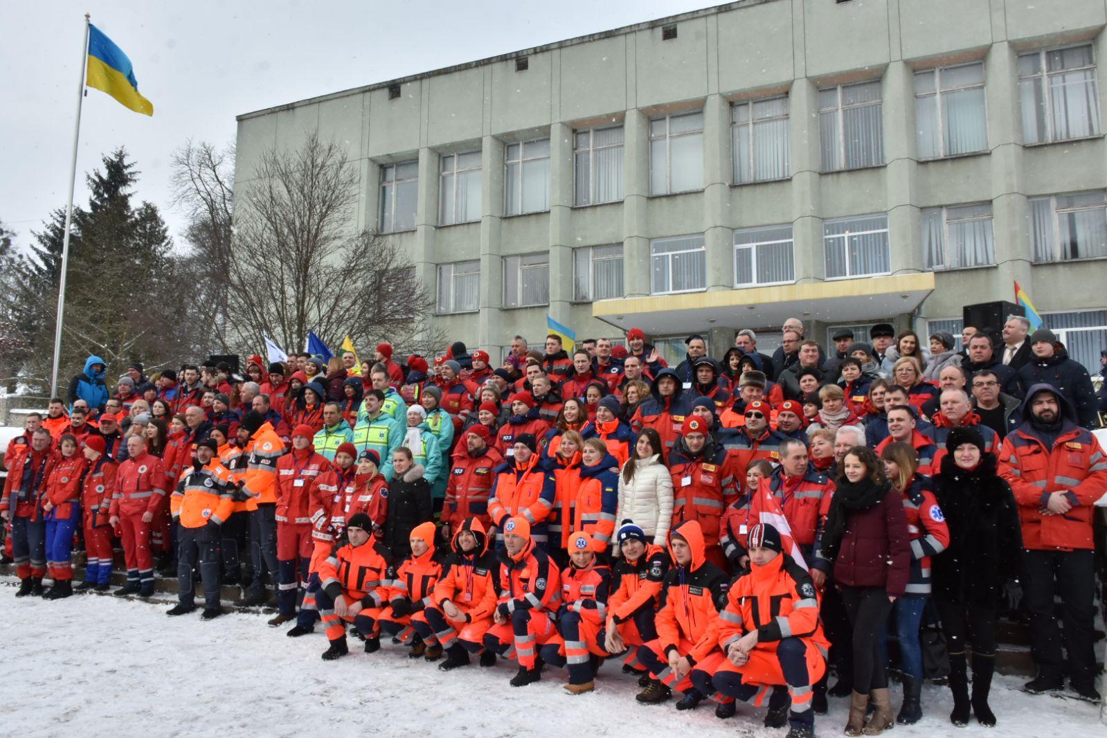 Kremenet Medical Rally, Février 2018
