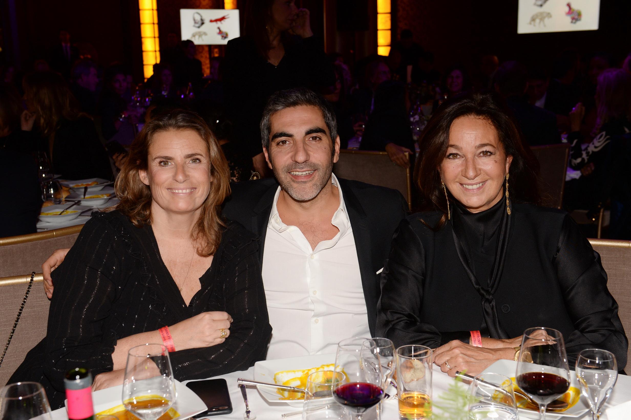Lisa Azuelos, Ary Abittan et Katia Toledano