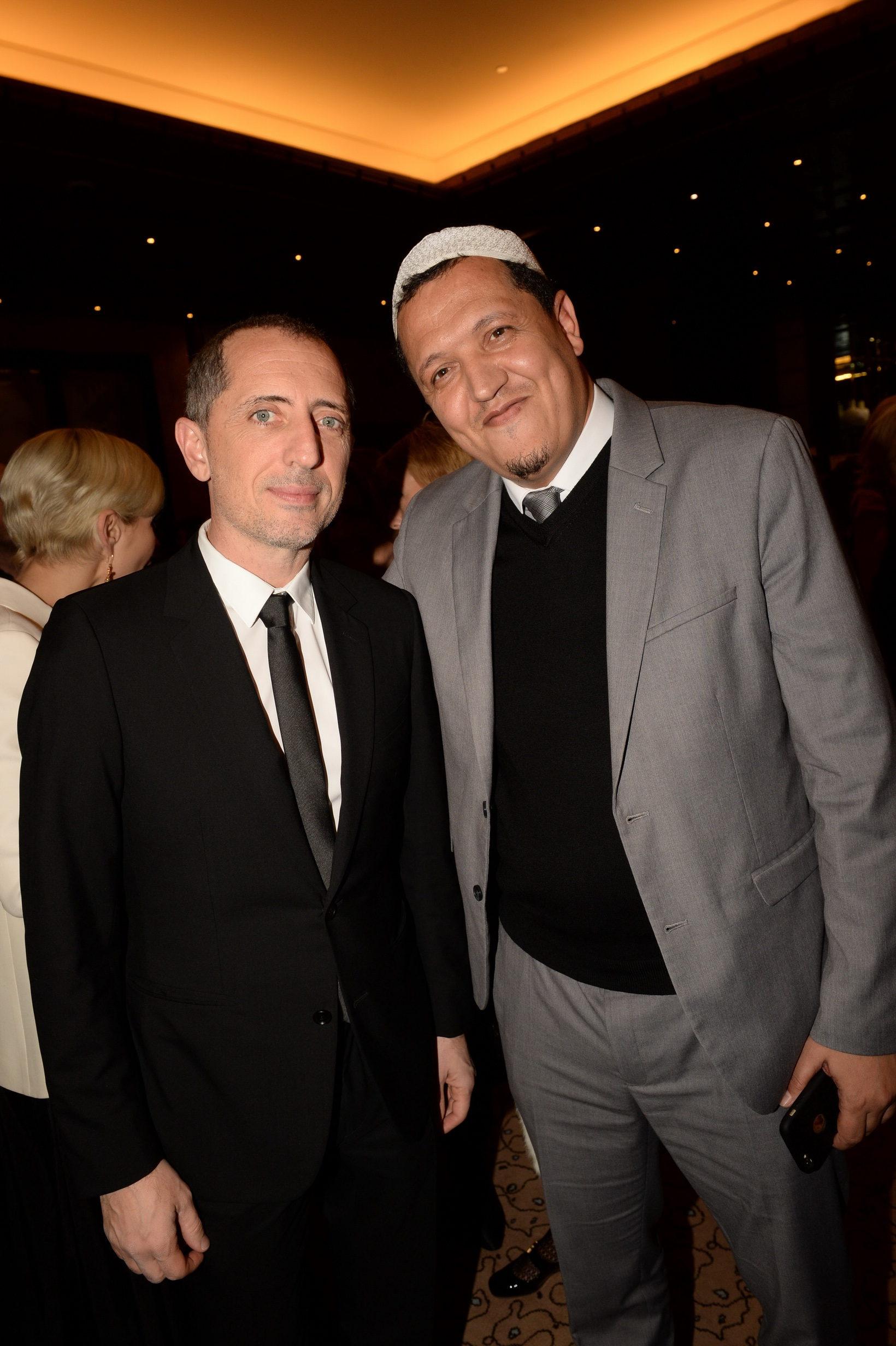 Gad Elmaleh et l'Imam Chalghoumi