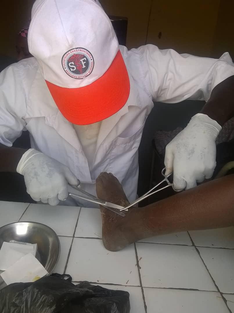Mission médicale à Nonkon, Mali, Mars 2018