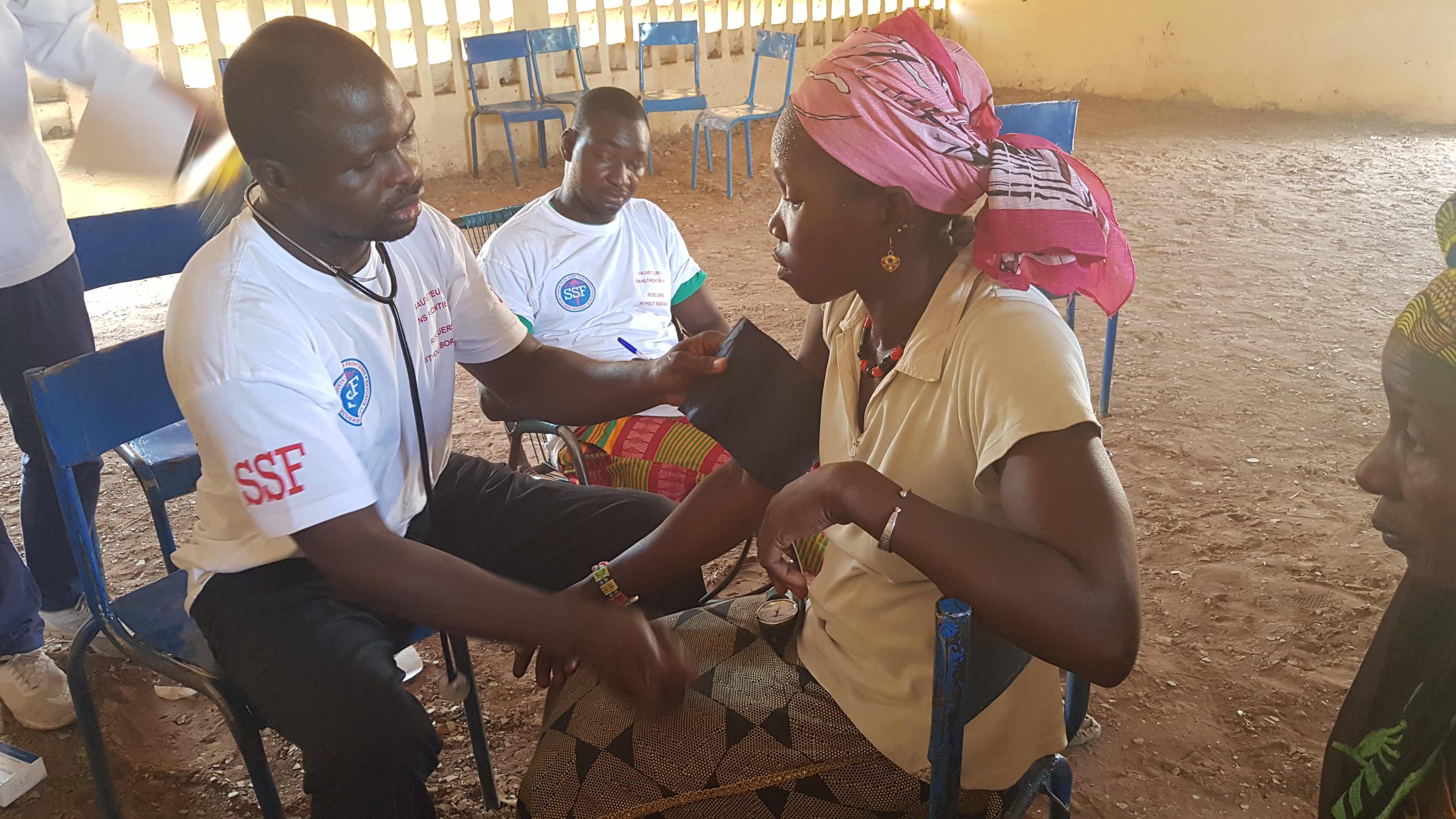 Consultation médicale, Juin 2018, Mali