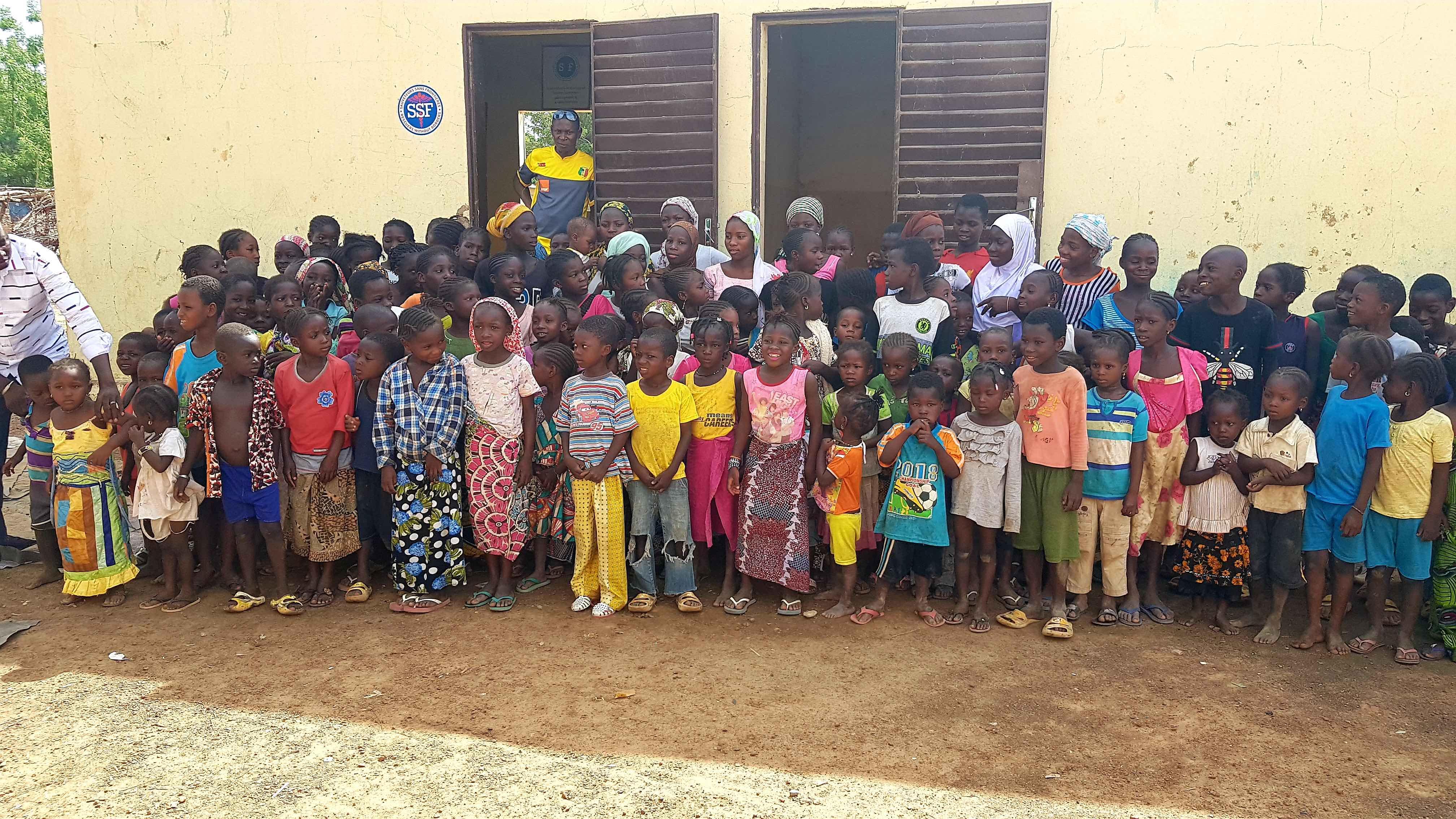 Centre éducatif de Ouolodo, Juin 2018, Mali