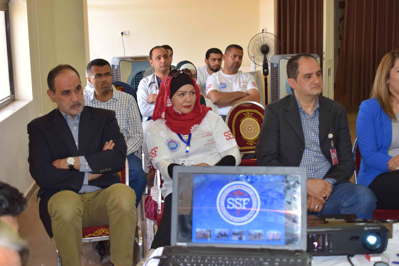 Cérémonie partenariat SSF Hopital Hanan, Amman, Jordanie, Juillet 2018