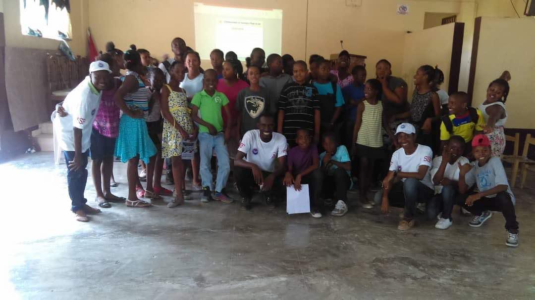Stage de formation au secourisme, Haïti, Juillet 2018