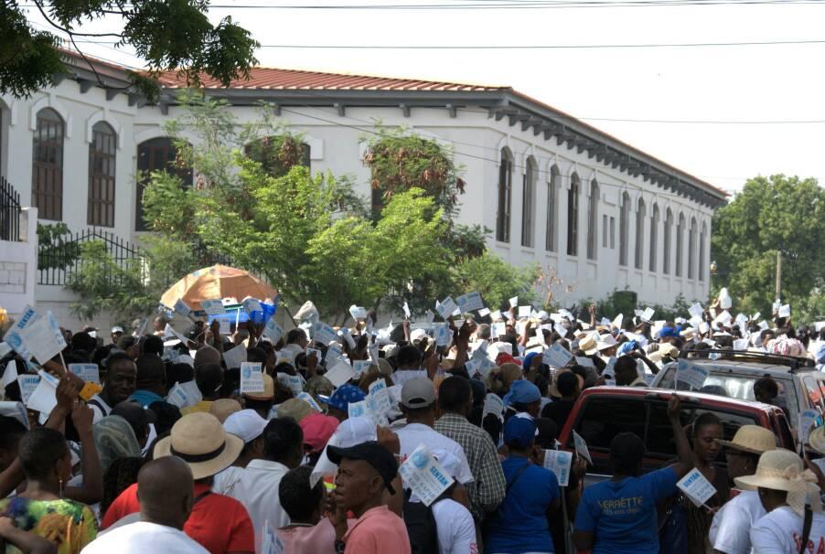 Procession fête patronale Saint Anne, Juillet 2018, Haïti