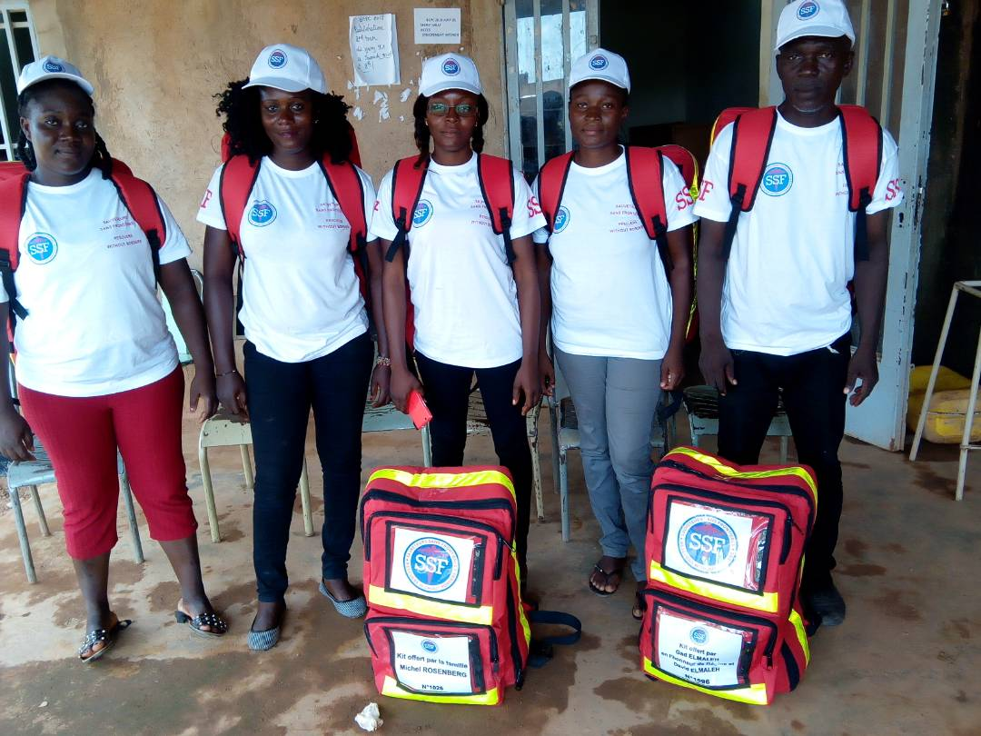 Remise de kits Août 2018, Ouagadougou Burkina Faso