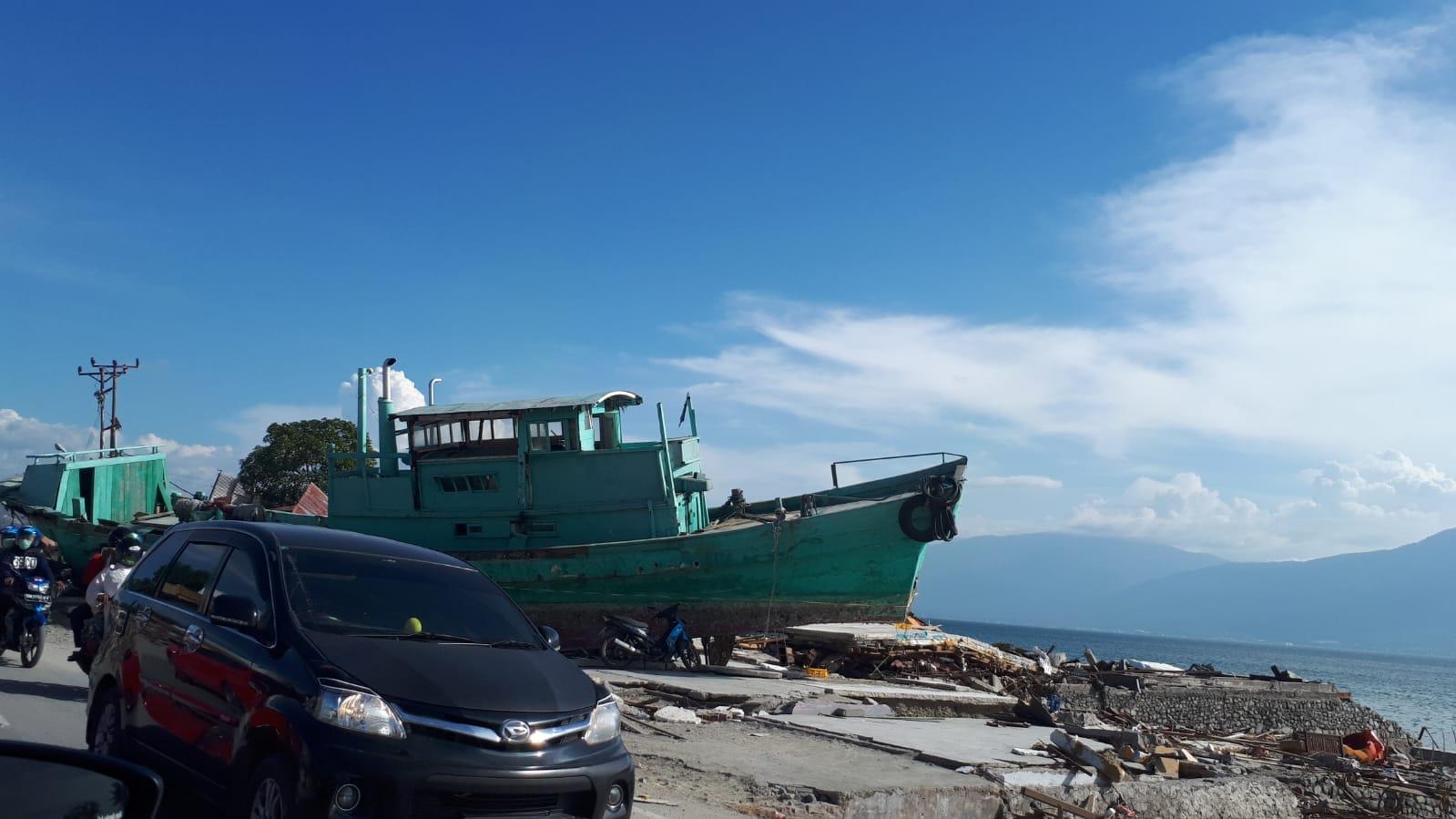 Sur la route de Gorontalo-Palu, octobre 2018
