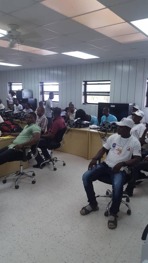 Réunion protection civile à Port de Paix, Haïti, octobre 2018